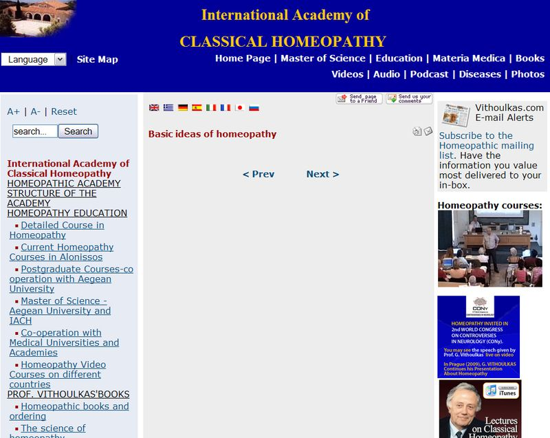 International Academy of CLASSICAL HOMEOPATHY - Basic ideas of homeopathy_1244128001342 copy